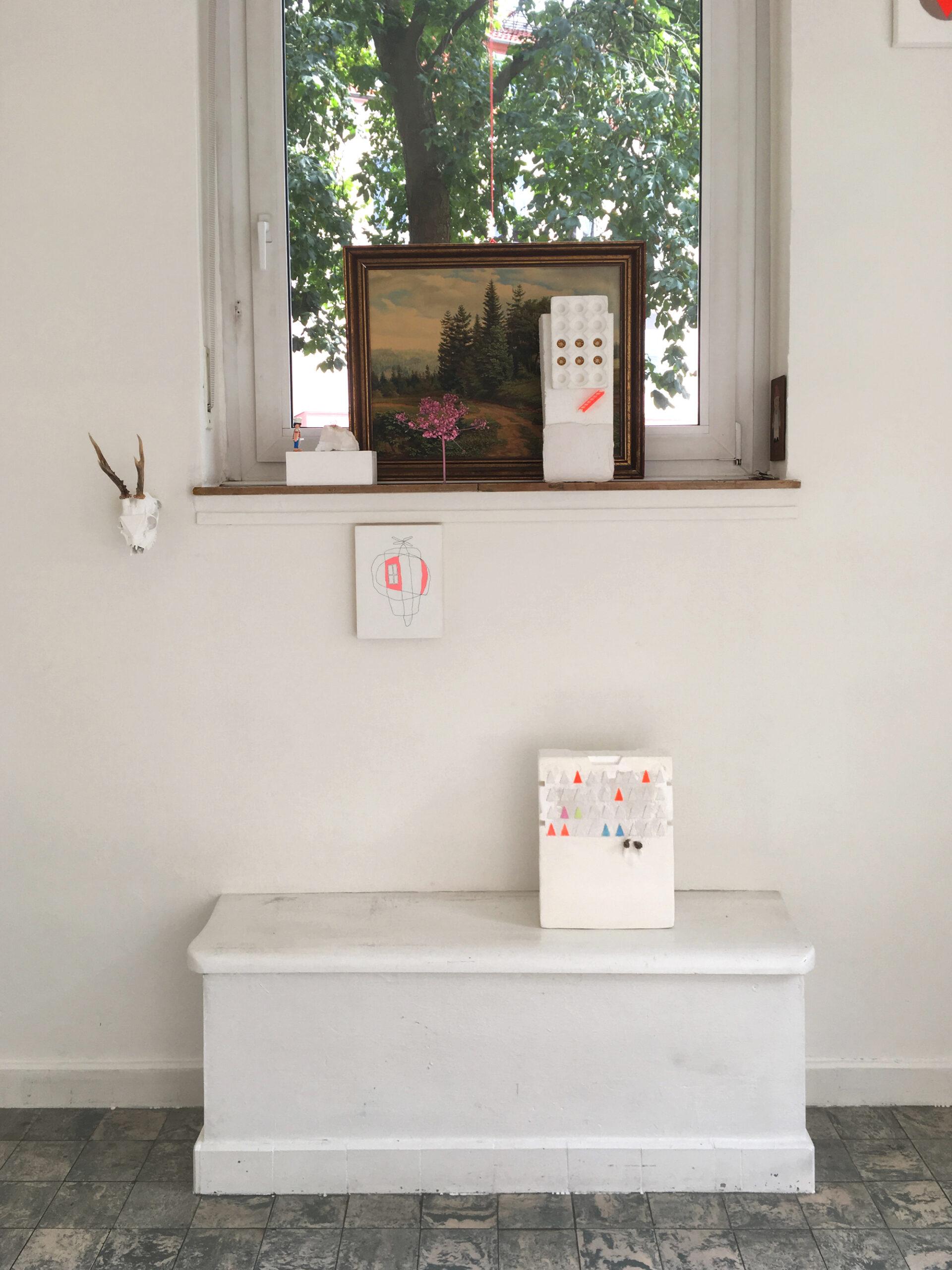 KERSTIN blank Ausstellung